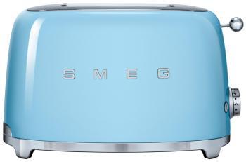 Тостер Smeg TSF 01 PBEU голубой тостер smeg tsf 01 rdeu красный
