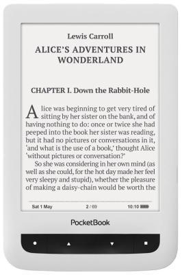 Электронная книга PocketBook 626 Plus белая pocketbook 301 комфорт в москве