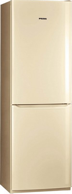 Двухкамерный холодильник Позис RK-139 бежевый двухкамерный холодильник позис rk 101 серебристый металлопласт