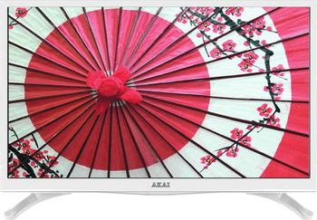 LED телевизор Akai LES-28 A 67 W телевизор akai les 28a67w белый