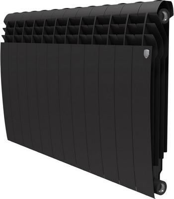 Водяной радиатор отопления Royal Thermo BiLiner 500-12 Noir Sable водяной радиатор отопления royal thermo biliner 500 6 noir sable