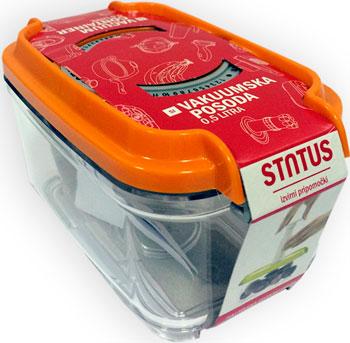 Контейнер для вакуумирования Status VAC-REC-05 Orange сумка solo solo mp002xw1ak39