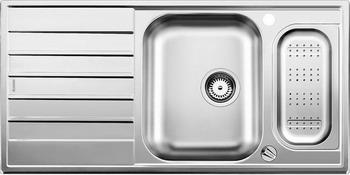 Кухонная мойка BLANCO LIVIT 6 S Centric нерж. сталь полированная с клапаном-автоматом кухонная мойка blanco andano 500 180 u нерж сталь полированная с клапаном автоматом правая