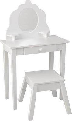 Туалетный столик KidKraft Модница 13009_KE столы и стулья kidkraft деревянный туалетный столик трельяж для девочек делюкс
