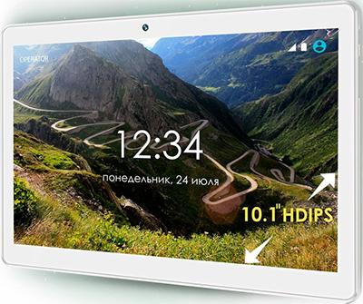 Планшет Ginzzu GT-1035 (белый) планшет ginzzu gt 7050 белый