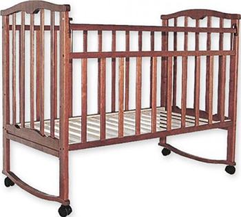 Детская кроватка Агат Золушка-1 Вишня обычная кроватка агат 52103 золушка 3 вишня