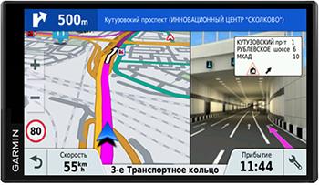 Автомобильный навигатор Garmin Drive Smart 61 RUS LMT (черный) garmin drivesmart 50 rus lmt