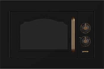 Встраиваемая микроволновая печь СВЧ Gorenje BM 235 CLB микроволновая печь gorenje mmo20dgeii mmo20dgeii