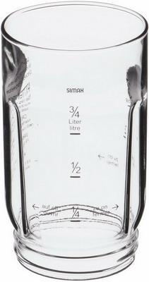 Стакан блендера для кухонного комбайна Bosch 00081169 насадка для кухонного комбайна bosch muz9fw1