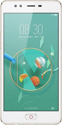 Смартфон ZTE Nubia M2 Lite 32 Gb золотистый мобильный телефон zte n1 золотистый