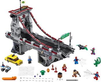 Конструктор Lego SUPER HEROES Человек-Паук: Последний бой воинов паутины 76057 конструктор lego marvel super heroes реактивный самолёт мстителей 76049