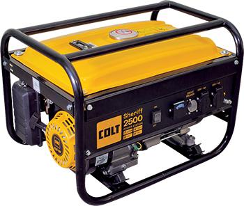 Электрический генератор и электростанция Colt Colt Sheriff 2500 + Инвертор сварочный Condor 160