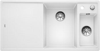 Кухонная мойка BLANCO AXIA III 6 S InFino Silgranit белый 523477 кухонная мойка blanco axia ii 8 кофе