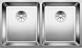Кухонная мойка BLANCO ANDANO 340/340-IF нерж.сталь полированная без клапана-автомата без клапана автомата 522981 мойка andano 340 180 if left 518324 blanco