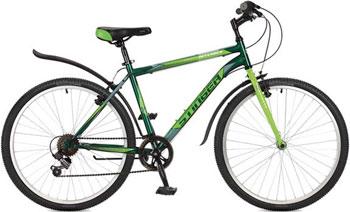 Велосипед Stinger 26'' Defender 16'' зеленый 26 SHV.DEFEND.16 GN7 велосипед stinger bmx graffiti цвет зеленый 20
