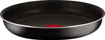 Сковорода Tefal 24 INGENIO Black 04131124 набор посуды со съемной ручкой tefal 24 28 ручка 5 ingenio red 04175820