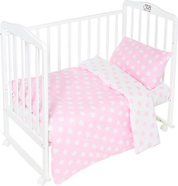 Комплект постельного белья Sweet Baby Stelle Rosa комплект белья из 5 и предметов italbaby polvere di stelle