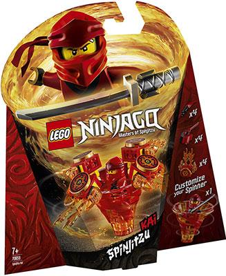 Конструктор Lego Кай: мастер Кружитцу 70659 Ninjago Masters of Spinjitzu конструктор lego ninjago 70634 ния мастер кружитцу