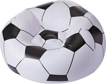 Кресло надувное BestWay Футбольный мяч 75010 BW надувное кресло onlitop fasigo 898271