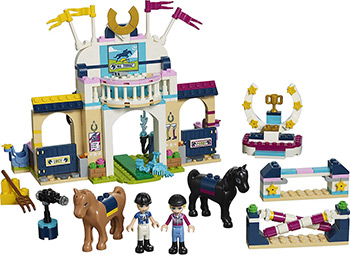 Конструктор Lego FRIENDS Соревнования по конкуру 41367 lego friends сёрф станция 41315
