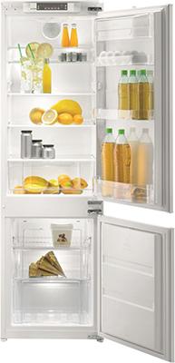 Встраиваемый двухкамерный холодильник Korting KSI 17875 CNF двухкамерный холодильник don r 297 b