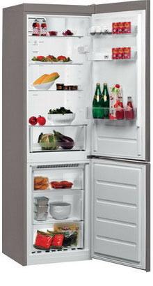 Двухкамерный холодильник Whirlpool BSNF 8121 OX холодильник beko rcnk365e20zx двухкамерный нержавеющая сталь