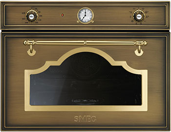 Встраиваемый электрический духовой шкаф Smeg SF 4750 VCOT электрический духовой шкаф smeg sf855po