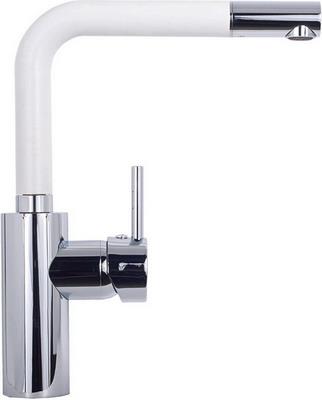 цена на Кухонный смеситель Kuppersberg GEO KG 2385 CR WHITE ALABASTER (7108)