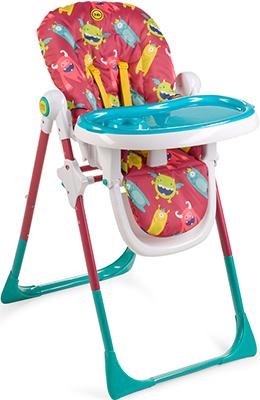 Стульчик для кормления Happy Baby Goodie CHERRY