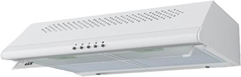 Вытяжка козырьковая Lex SIMPLE 2M 600 WHITE вытяжка lex simple 2m 600 white 280вт 600м3 ч 46дб 600х500х150мм 8кг