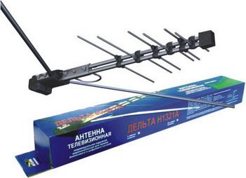 ТВ антенна DELTA Н1321 А (всеволновая) (в коробке) игровой набор playmates toys патрульные багги леонардо и донателло