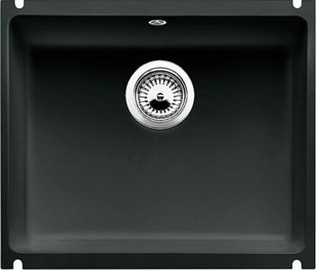 Кухонная мойка BLANCO SUBLINE 500-U КЕРАМИКА черный PuraPlus мойка subline 375 u cer magnolia 519595 blanco