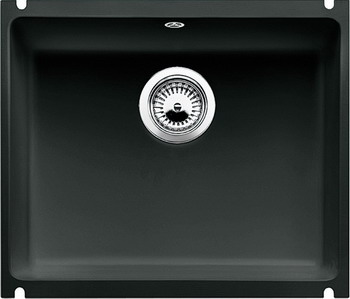 Кухонная мойка BLANCO SUBLINE 500-U КЕРАМИКА черный PuraPlus blanco statura 160 u