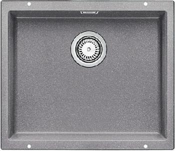 Кухонная мойка BLANCO SUBLINE 500-U SILGRANIT жемчужный с клапаном-автоматом  blanco subline 500 u чёрный