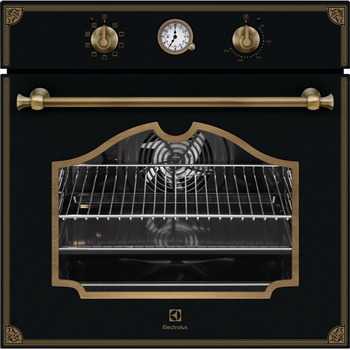 Встраиваемый электрический духовой шкаф Electrolux OPEB 2320 R духовой шкаф электрический electrolux eoa95551ax нержавеющая сталь