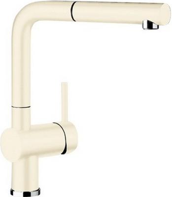 Кухонный смеситель BLANCO LINUS-S КЕРАМИКА глянцевая магнолия смеситель для кухни blanco linus s керамика черный