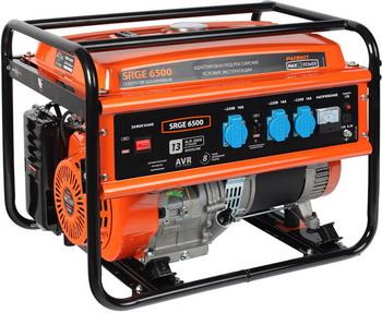 Электрический генератор и электростанция Patriot Max Power SRGE 6500 электрический генератор и электростанция patriot 474101610 maxpower srge 2000 i