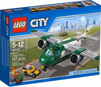 Конструктор Lego City Грузовой самолет 60101