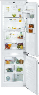 Встраиваемый двухкамерный холодильник Liebherr ICBN 3376 двухкамерный холодильник liebherr cnp 4758