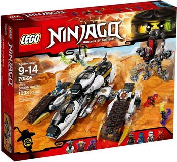 Конструктор Lego NINJAGO Sonic raider 2.0 70595 видеоигра для pc медиа rise of the tomb raider 20 летний юбилей