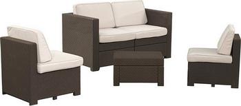 Комплект мебели Keter Modus коричневый 17191834 стол keter futura 17197868