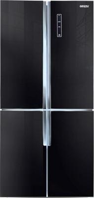 Многокамерный холодильник Ginzzu NFK-510 черный ручной пылесос handstick ginzzu vs407 90вт черный