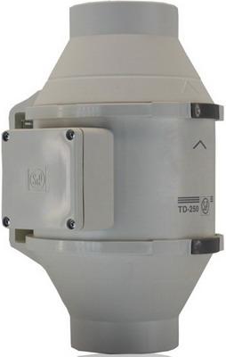 Канальный вентилятор Soler amp Palau TD-250 T/100 (белый) 03-0101-207 вентилятор канальный solerpalau td 250 100 silent t