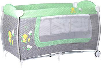 Манеж-кровать Lorelli Danny 2 Серо-зеленый Grey&Green Za Za 1818 10080361818 osudy dobreho vojaka svejka za svetove valky 1 2