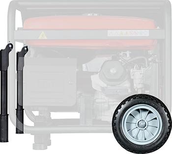 Комплект навесного оборудования FUBAG Комплект колес и ручек для электростанций 838224 инвертор fubag in 196
