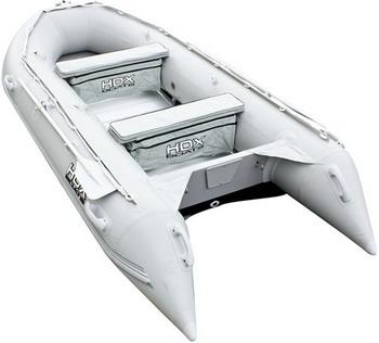Надувная лодка HDX OXYGEN 390 AL серый 29743