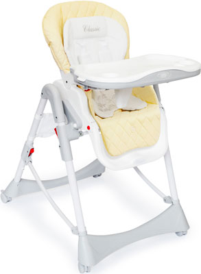 Стульчик для кормления Happy Baby ''WILLIAM Classic'' CREAM 4690624014215 набор для кормления детей happy baby anti colic baby bottle 10009 lime
