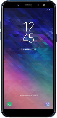 Мобильный телефон Samsung Galaxy A6 32 GB SM-A 600 синий oem 10 144 430 na 626 sma walkie talkie baofeng 5r b6 px 888k uvd1p na 626