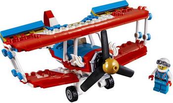 Конструктор Lego Creator: Самолёт для крутых трюков 31076 конструктор lego creator самолёт для крутых трюков 200 элементов 31076