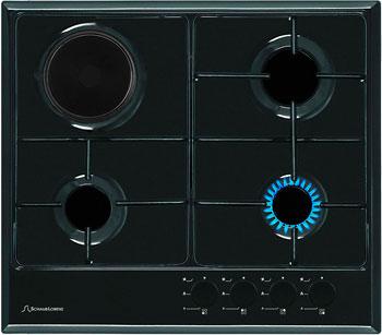 Встраиваемая комбинированная варочная панель Schaub Lorenz SLK GS 6014 черный